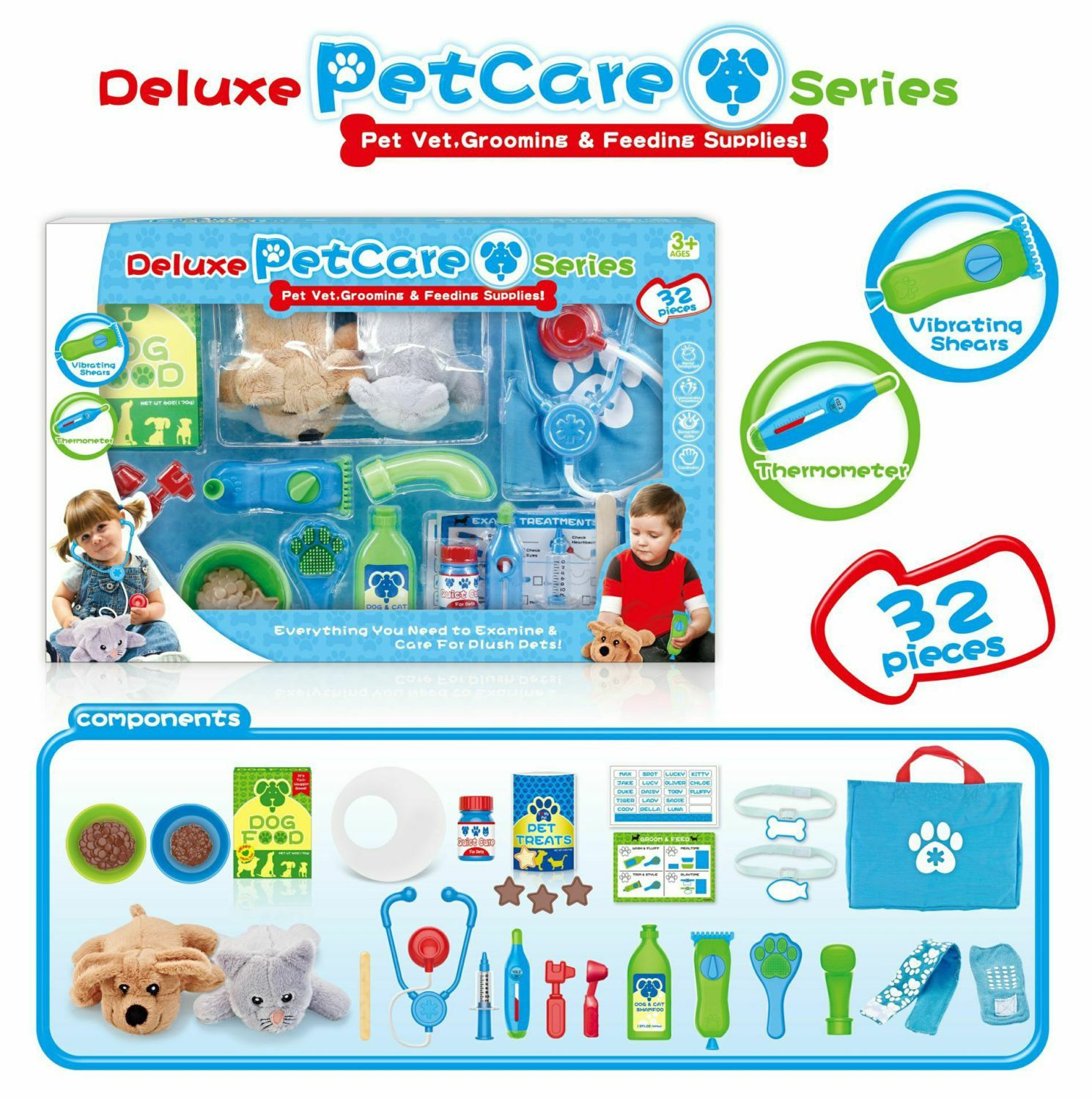 Pretend Toy Set-Pet Care Set-Pet Doctor Suit Custom Rc Cars