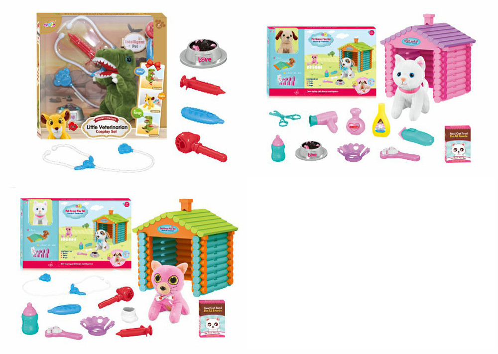 Pretend Toy Electric Pet Care Cat & Dog Vet. Grooming & Feeding Supplies Custom Rc Cars
