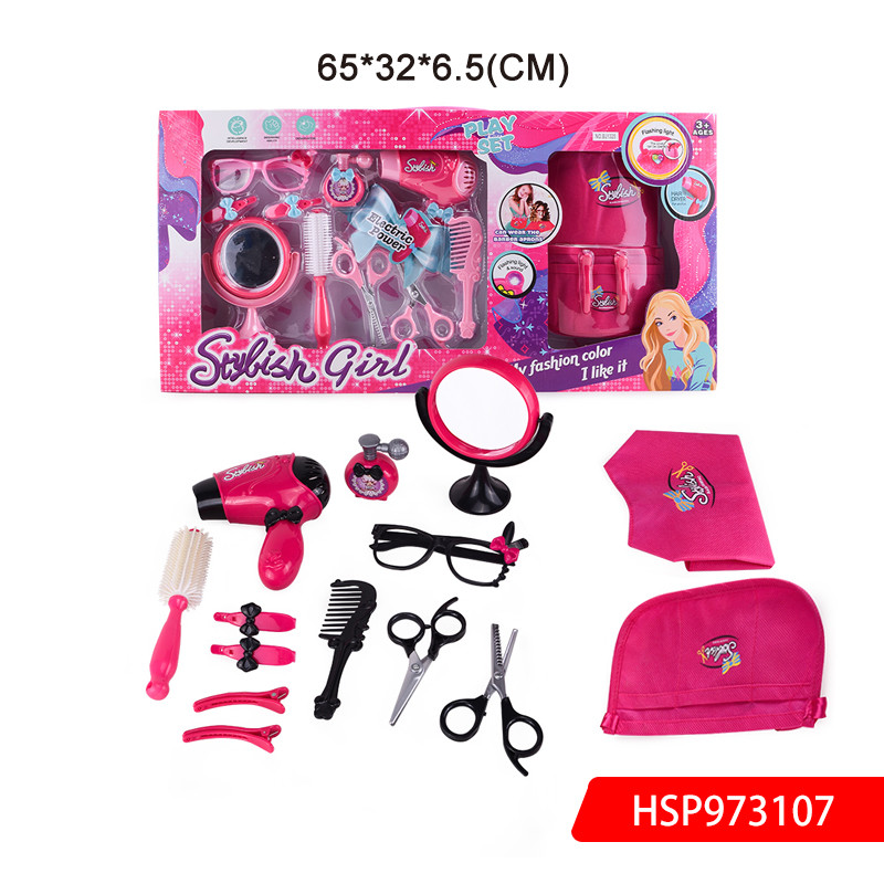 DIY Hairdressing And Beauty Set Children Hairdressing Toys