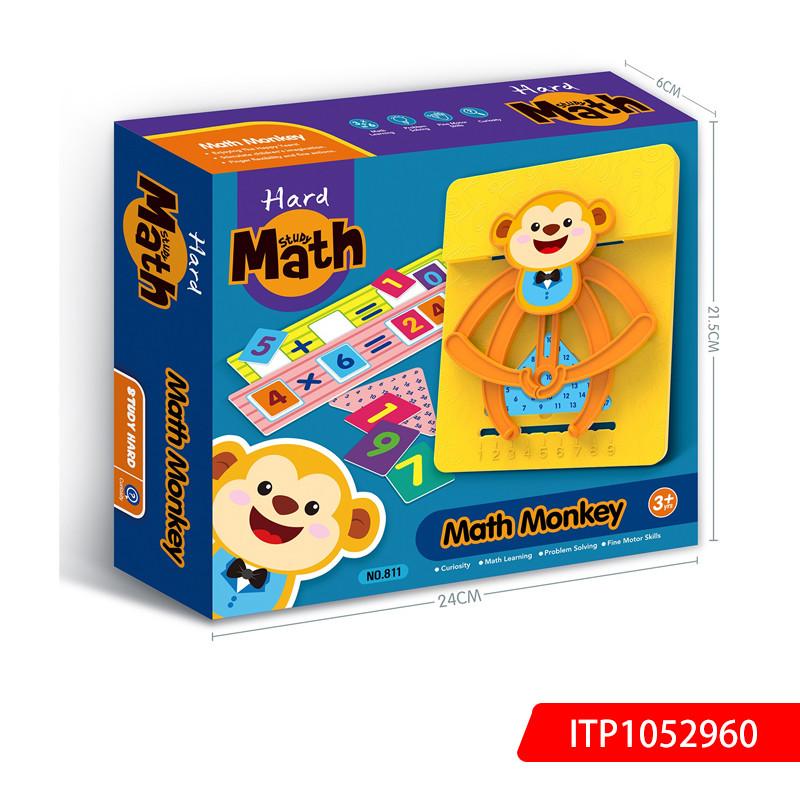 Intellectual Memory Training Game-Counting Little Monkey Kids Math Monkey Calculators