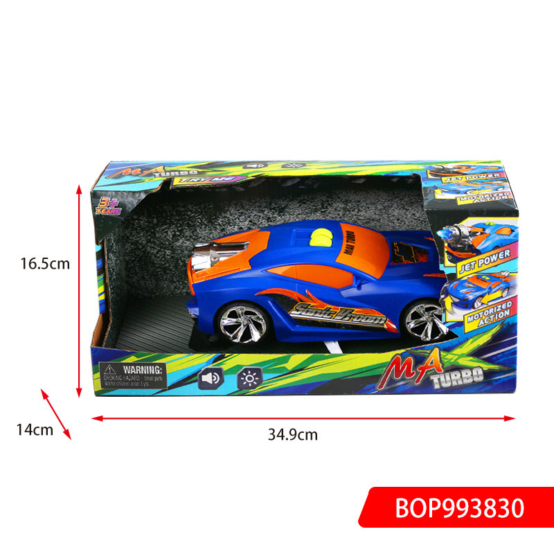 3x1.5V/AA Environmental Protection Battery Rocket Shooting Car With Music