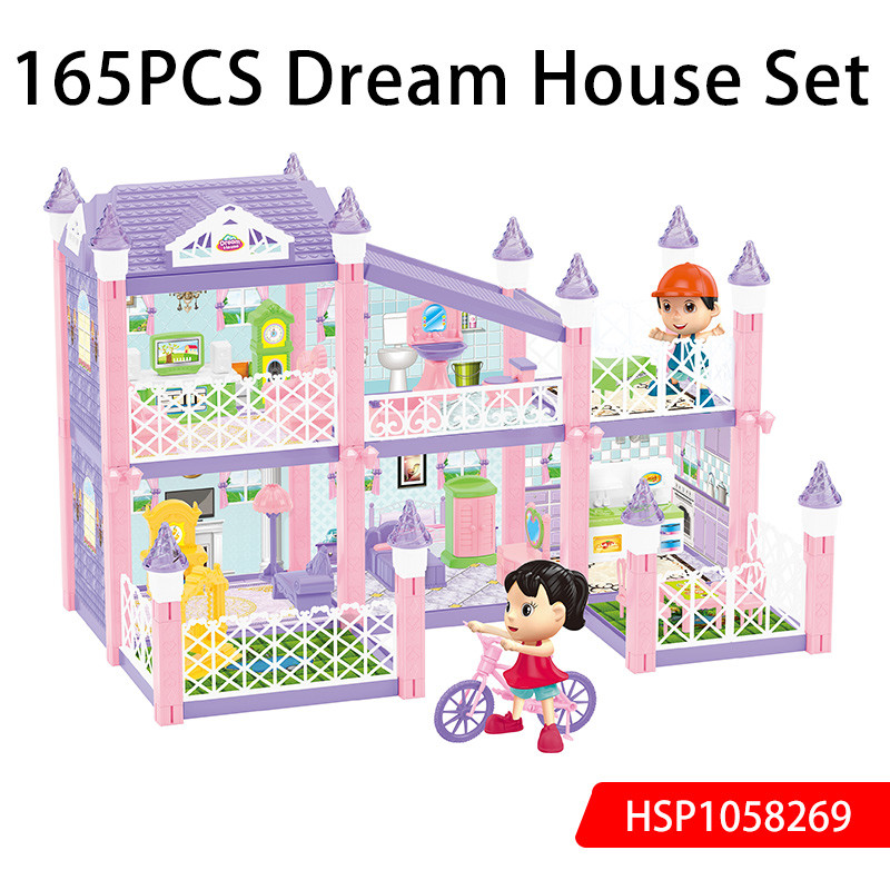 165PCS Dream House DIY Set