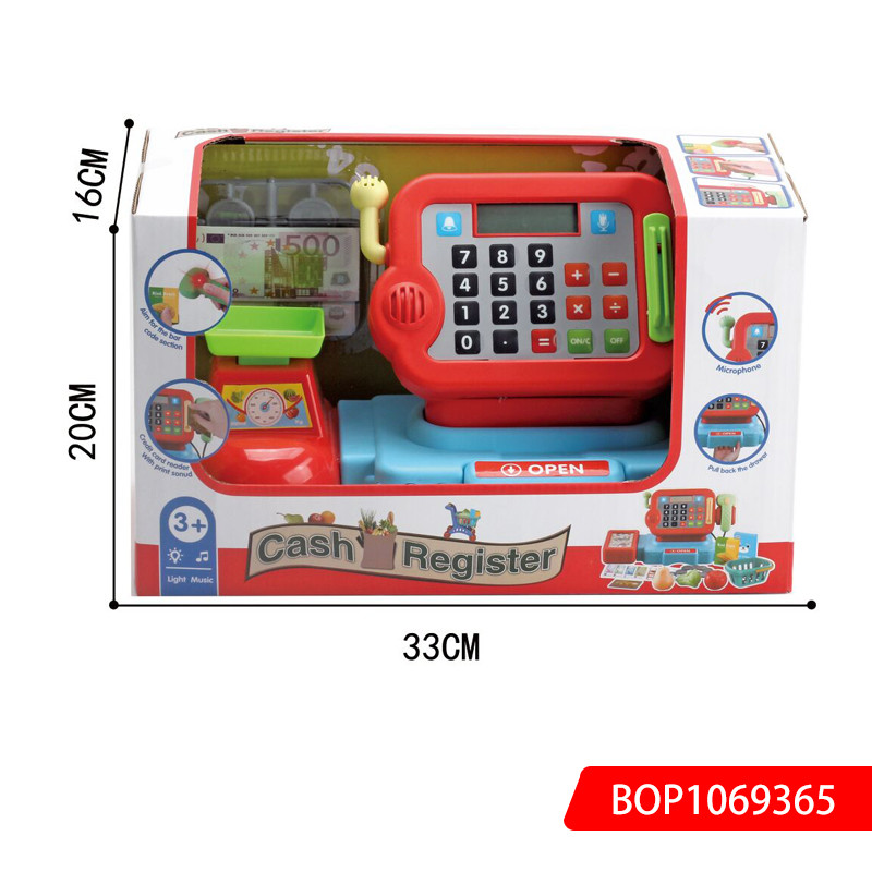 Cashier Toy Set Cashier Machine Toy Register