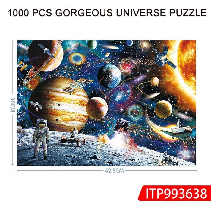 1000 Pcs Gorgeous Universe Puzzle