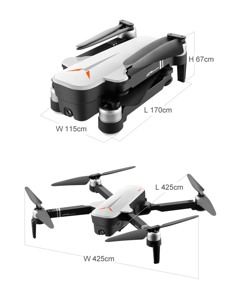 HD 4K Camera Para Drone With GPS And Phone Control Function 5G Supported