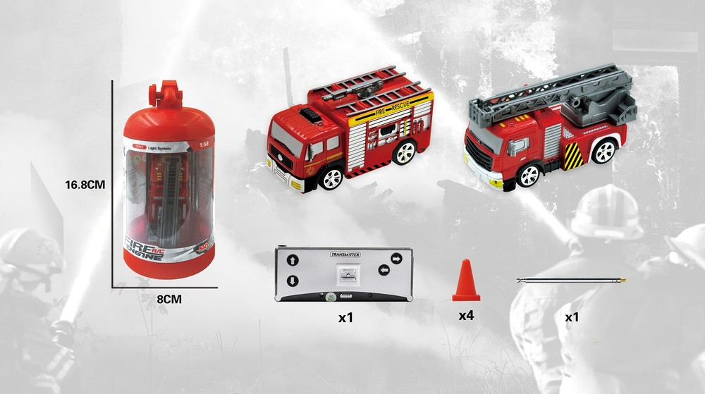 Super Mini Rc Cars MINI Remote Control RC Fire Truck