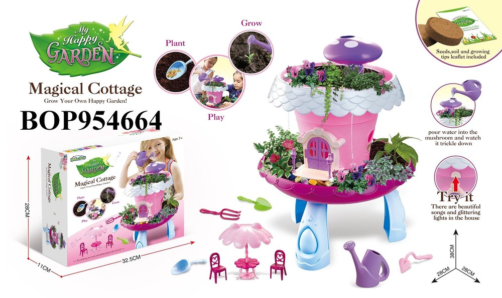 DIY Garden Series Kids Pretend Play Toys