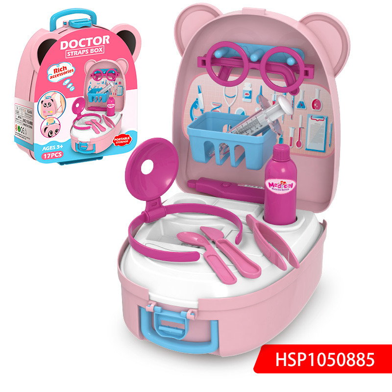 Pink Doctor Set Children Doctor Play Set
