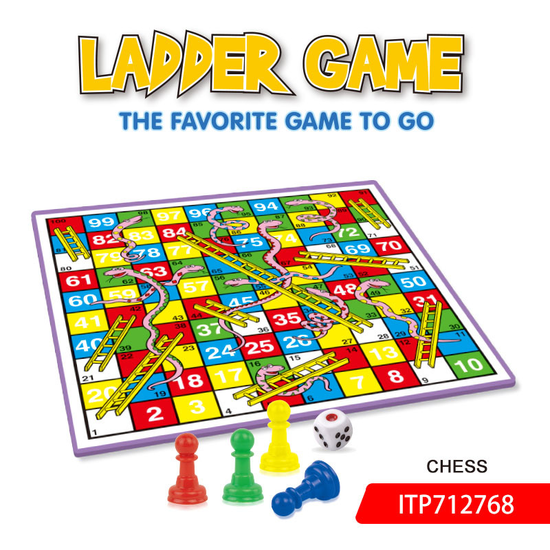 Snake And Ladder Game Travel Chess Set