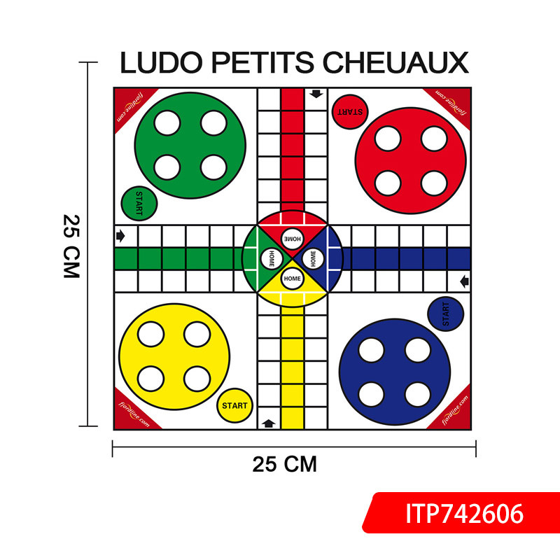 Ludo Chess Board Game