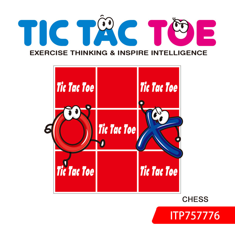 Red Tic Tac Toe