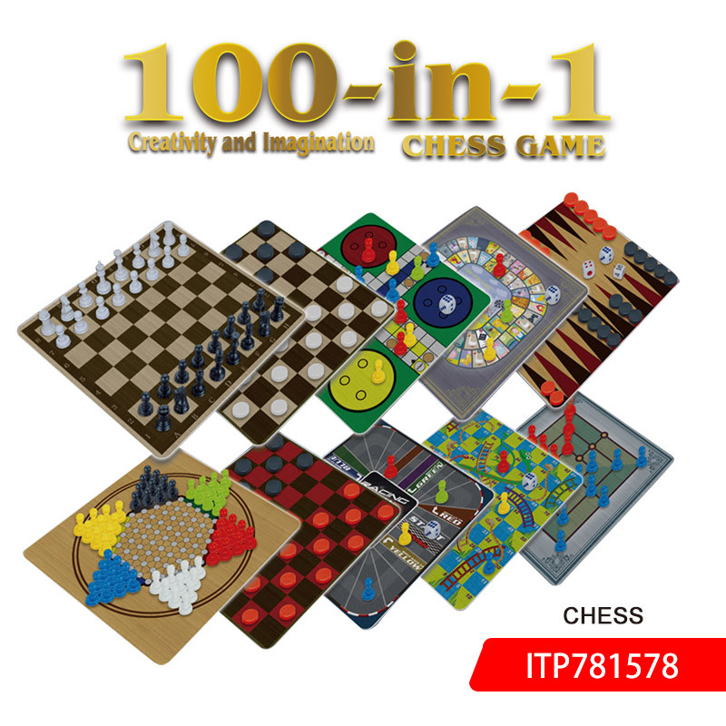 100 In 1 Chess 2020 Set Game