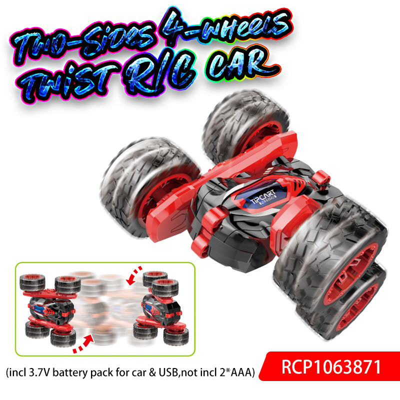 Two-Sides 4-wheels twist R/C car