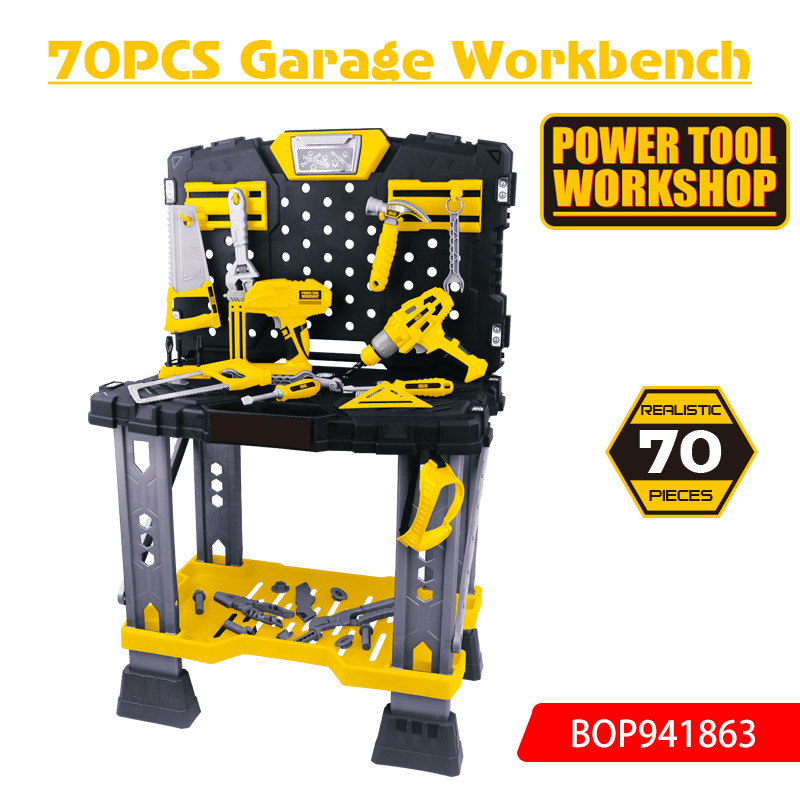 70PCS Garage Workbench Too Set Toys