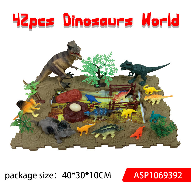 42pcs Dinosaur Paradise Set