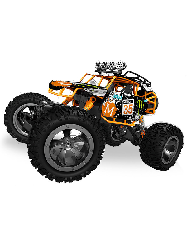 1/12 scale four-wheel drive off-road remote control vehicle