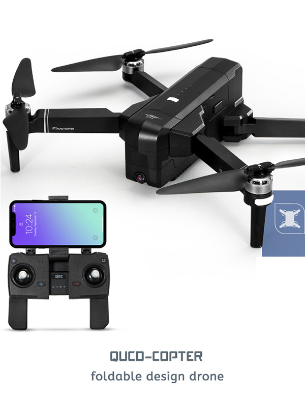 Foldable GPS/GNSS FPV Drone With Camera