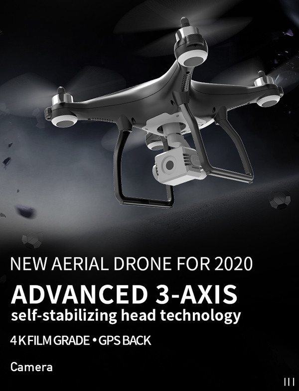 New aerial 4K camera 3-axis gimbal drone UAV drone