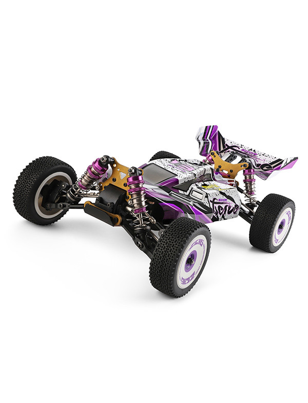 1:12 electric 4WD racing RC car purple rc speed buggy