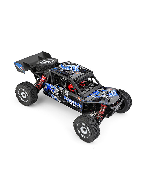 1:12 4WD RC desert buggy with spare tire and tail
