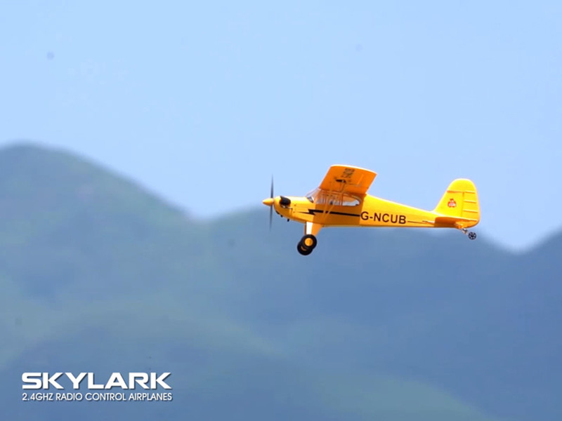 Inexpensive 3D/6G Fight Mode Five-channel RC Airplanes