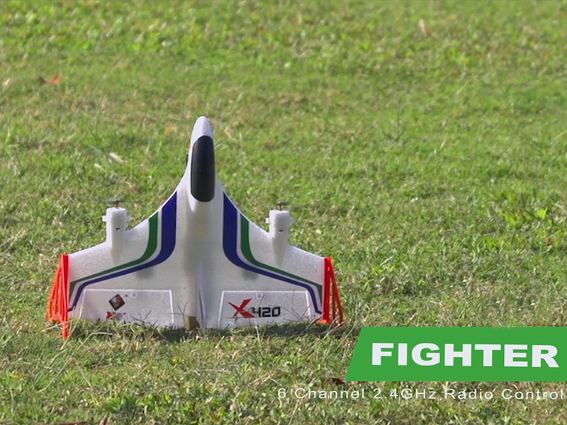 6-channel brushless vertical aerobatics glider