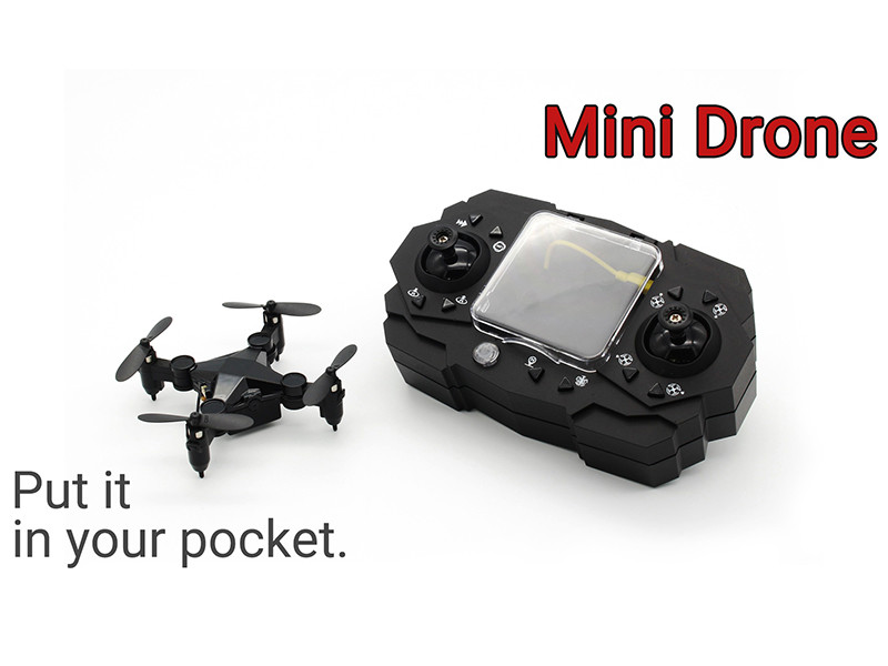 A drone that can be put in your pocket?