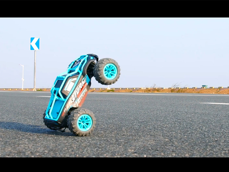 Speed of a RC toy car even faster than the real car!