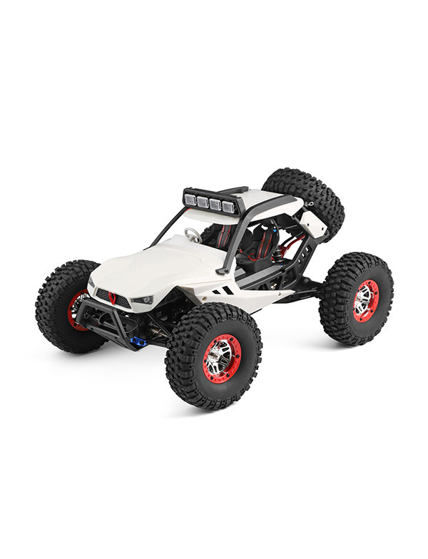 1:12 4WD RC rock crawler with LED headlights