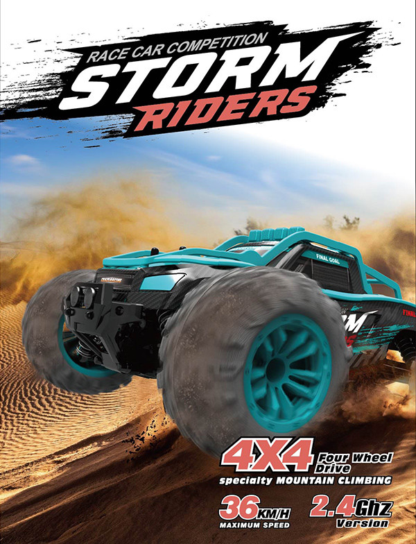 Spare parts for the pioneer storm riders RC car