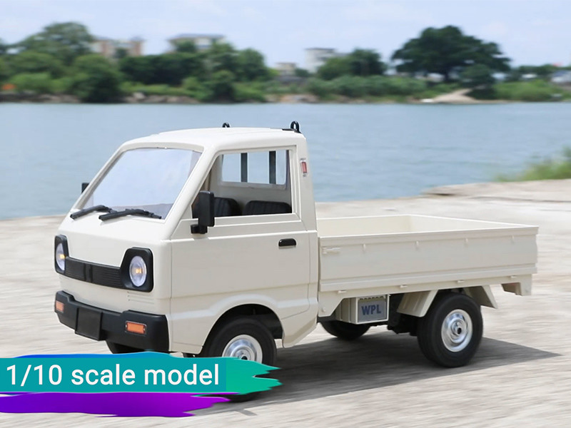 This remote control cargo truck can carry anything!