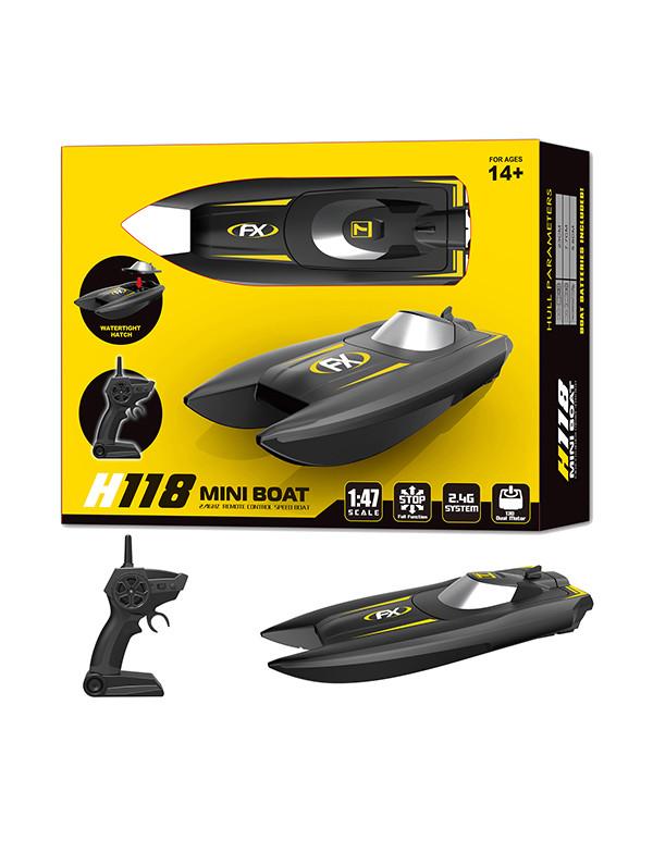 1:47 scale 2.4G remote control speed mini boat
