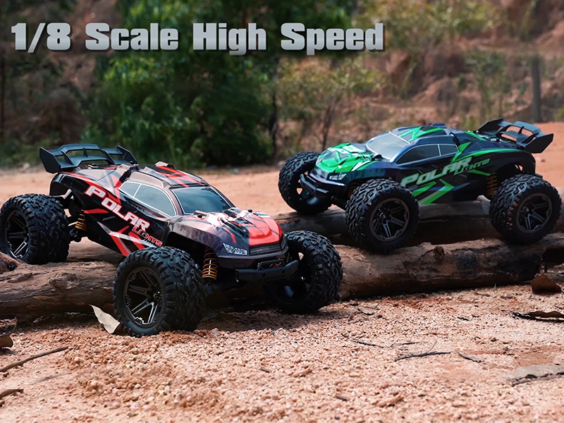 How to gamed the brushless RC monster truck system?